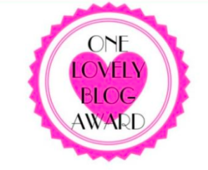 One Lovely Blog Award Medal