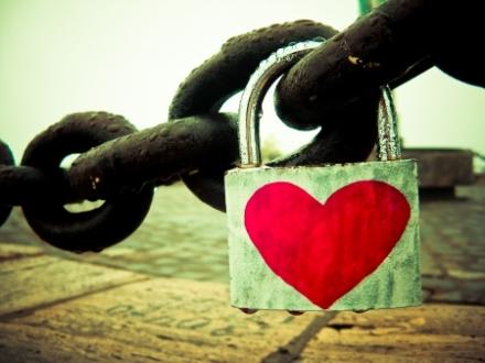 hidden treasure inside lock of love