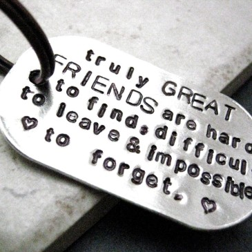 friendship key chain