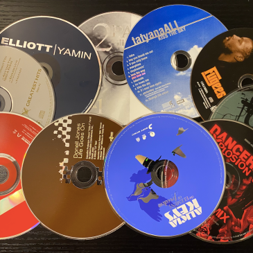 compilations of CD's